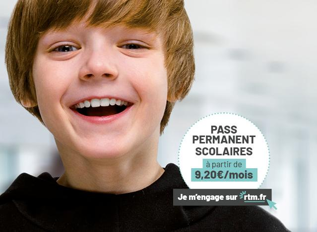 Pass permanent scolaire